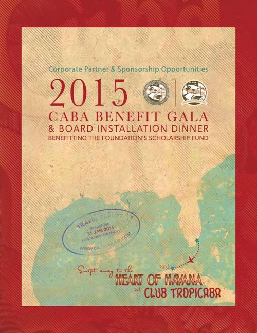 Caba Sponsorship Brochure