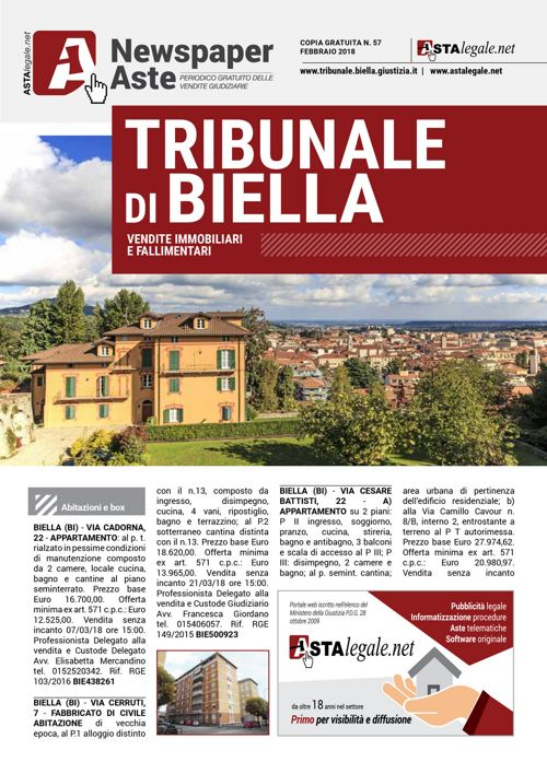 Biella febbraio 2018
