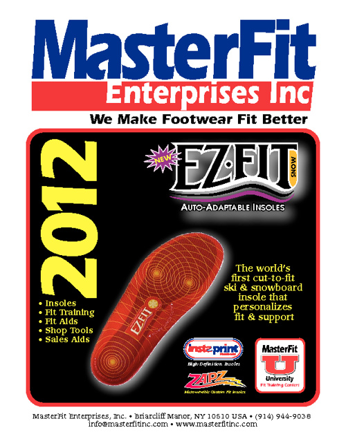 Masterfit Winter 2012 Catalog