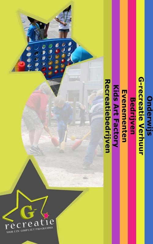 G-Recreatie brochure 2014