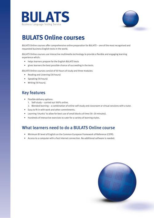 BULATS Courses