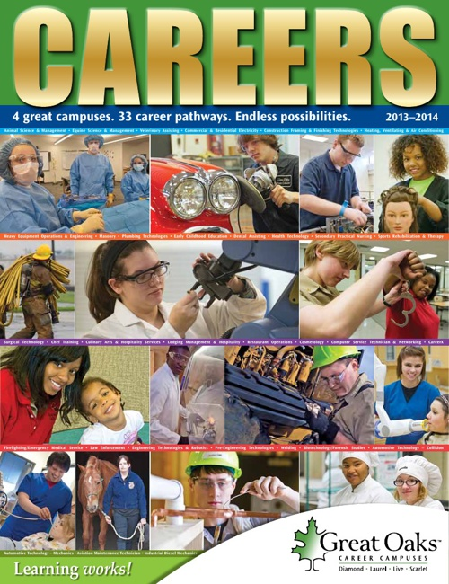 Great Oaks 2013/14 Career Catalog
