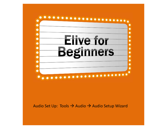 Elive for Beginners Presentation