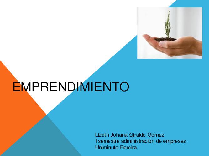 Emprendimiento