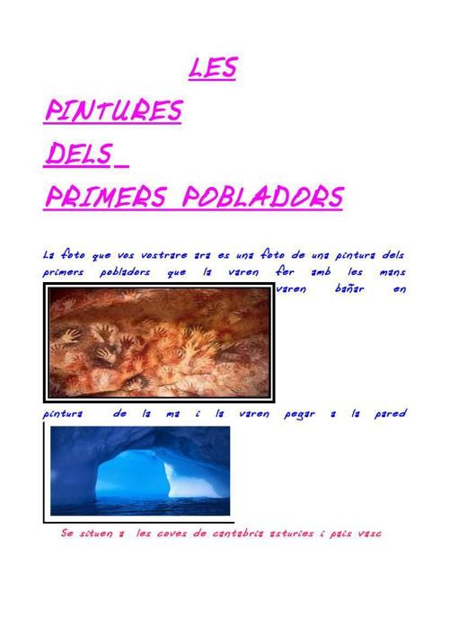 medi individual les coves de Altamira les mans