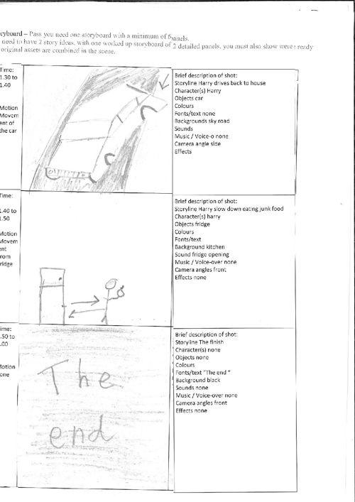 Animation storyboardpdf