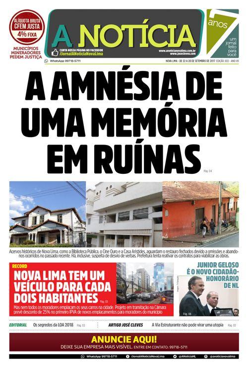 Jornal A Notícia - Edição 302