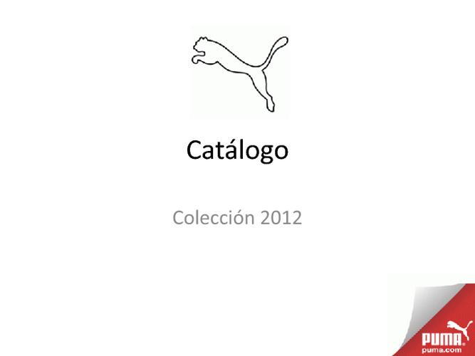 PUMA - Colección 2012