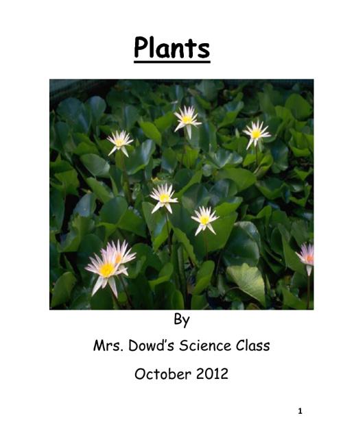 1st Grade Plant Nonfiction Books
