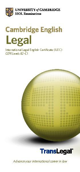 ILEC Leaflet
