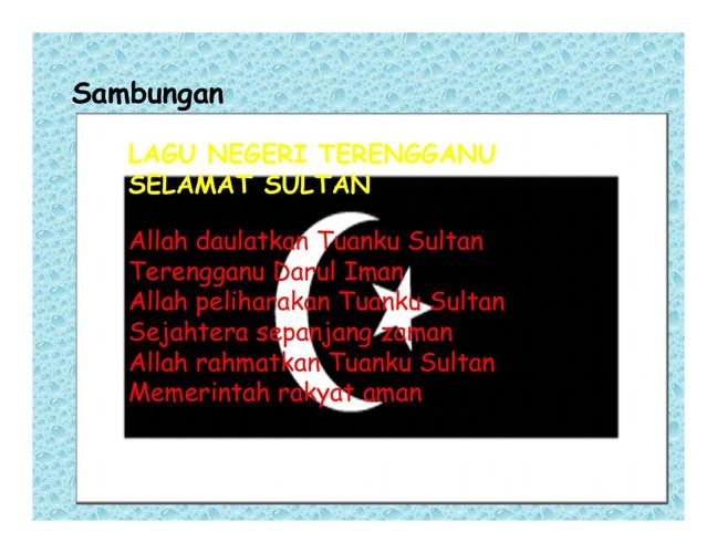 sambungan Tahun Melawat Terengganu 2013