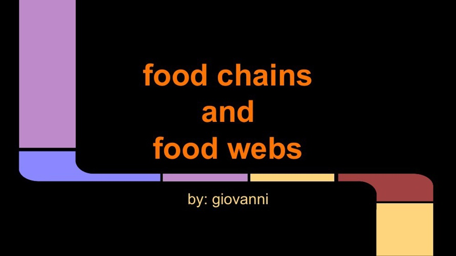 food chains(1)