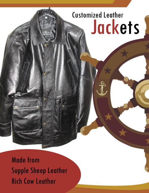 Customized Leather Jackets!