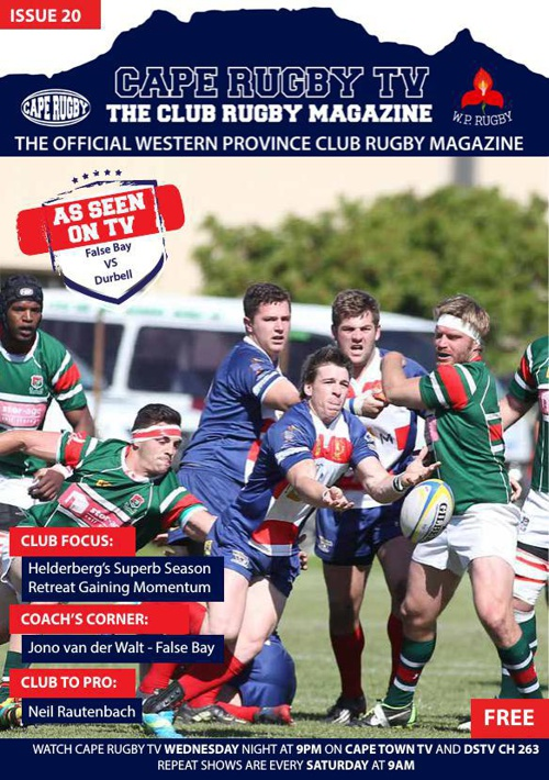 Cape Rugby TV  ISSUE 20