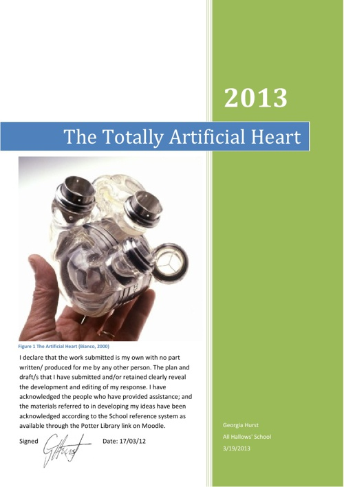 The Totally Artificial Heart