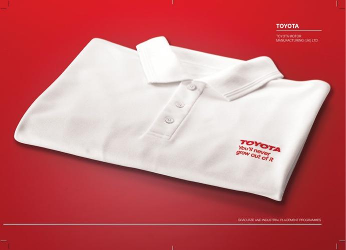 TOYOTA Graduate Brochure 2013