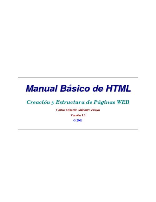 HTML Basico II