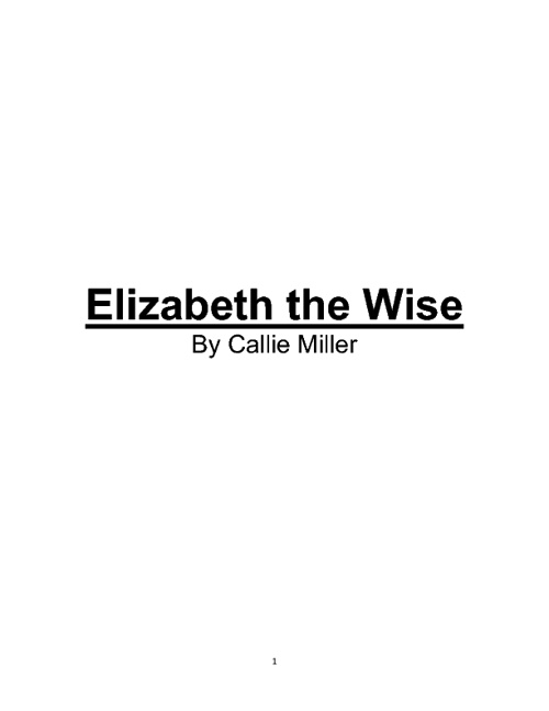 Elizabeth the Wise