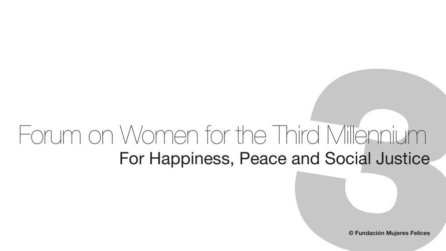 Dossier mujeres del tercer milenio pantalla ponentes ingles