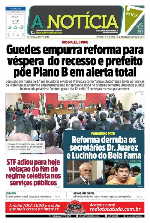 Jornal A Notícia - Edição 292