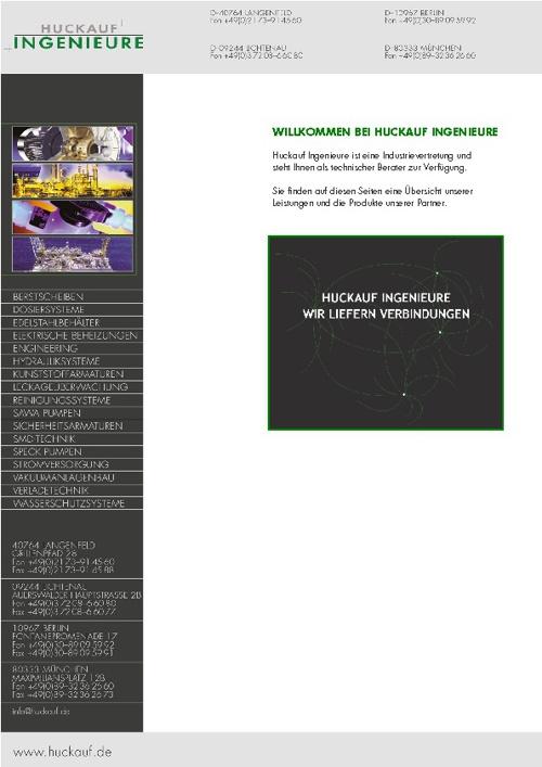Huckauf Mappe Overview