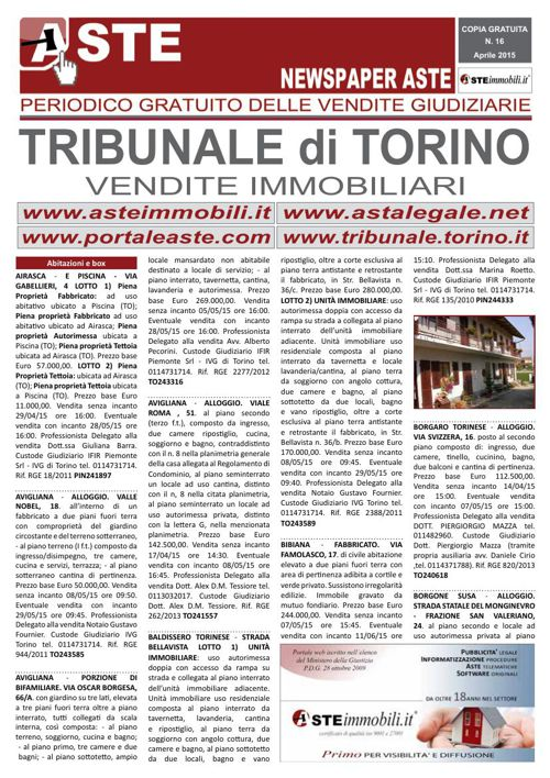 Torino aprile 2015