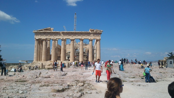 Dimitra's photos of the Acropolis