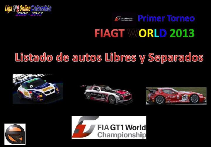 listado de autos libres fiagt2013