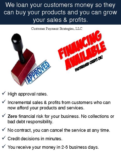 Customer Payment Strategies