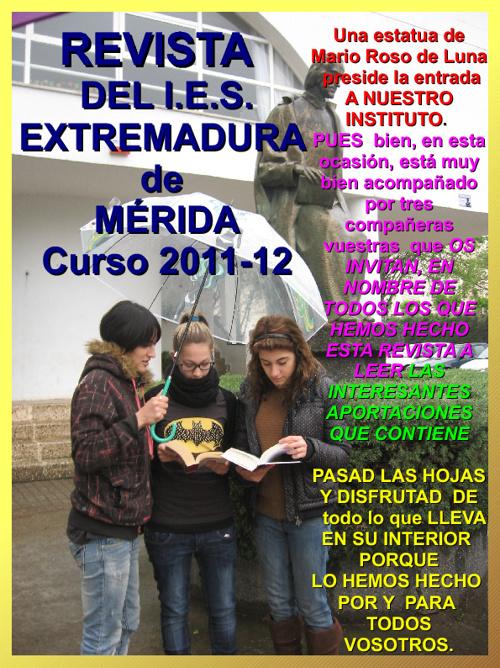Revista del IES Extremadura de Mérida