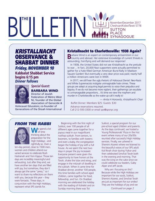 November December 2017 Bulletin