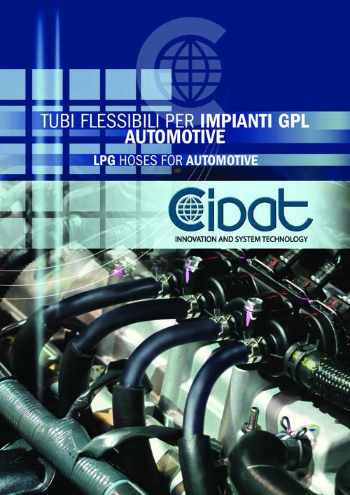 Tubi flessibili per impianti GPL automotive