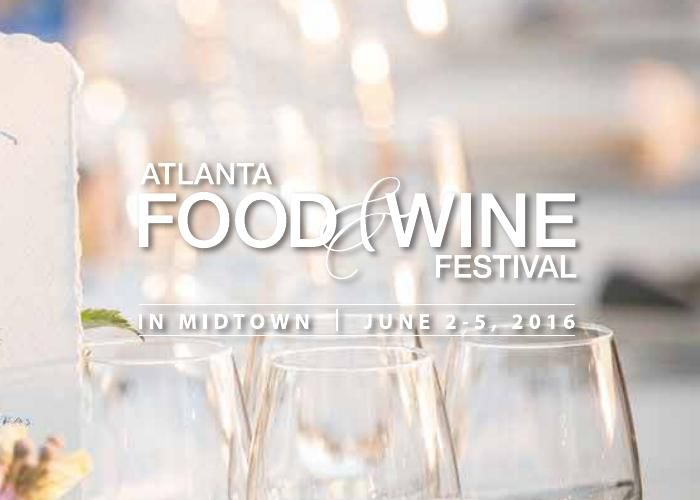 Atlanta Food & Wine Festival 2016
