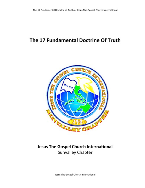 Fundamental Doctrine Of Truth