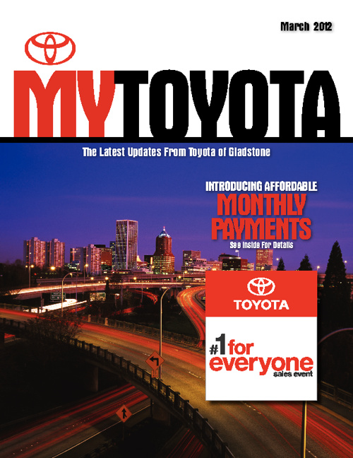 Toyota of Gladstone March Issue
