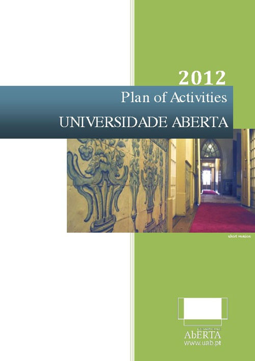 Plan of Activities 2012 - short version
