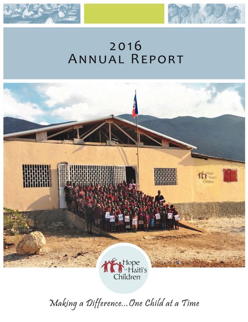 HFHC 2016 Annual Report