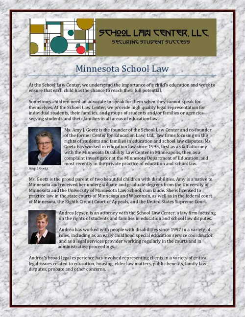 Minnesota School Law