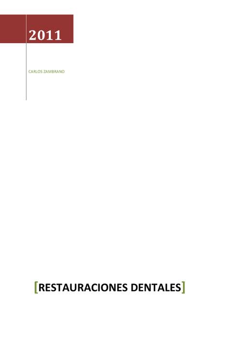 libros dentales. Carlos M.