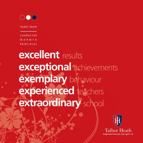 Talbot Heath School, The Red Prospectus