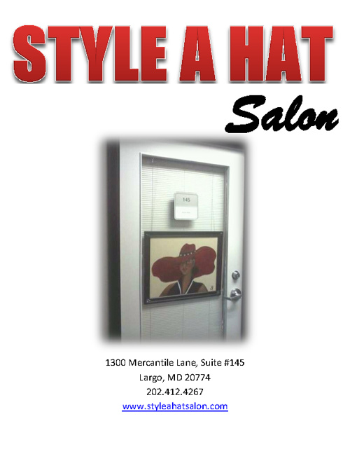 Style A Hat Salon Magazine