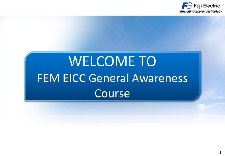 FEM EICC General Awareness Course