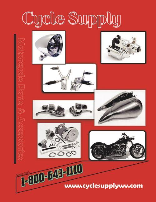 Harley Davidson Parts -------- Cycle Supply WV Catalog