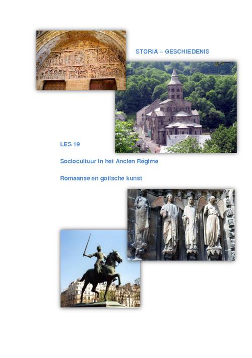 Romaanse en gotische kunst
