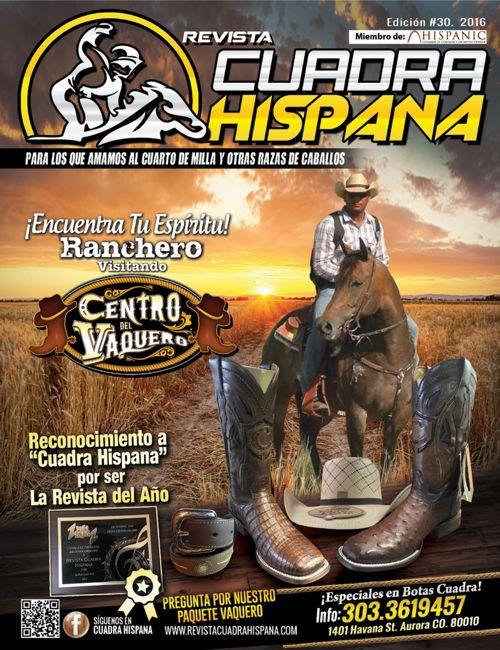 REVISTA CUADRA HISPANA ED#30 - 2016