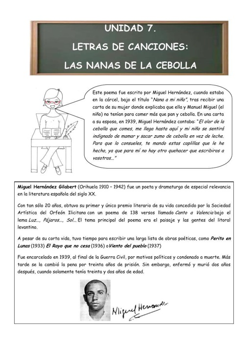 Lengua 13/14. Unidad7