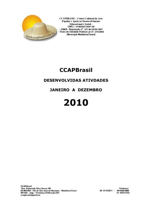 Atividades CCAPBrasil 2010 - by Gerson do Valle