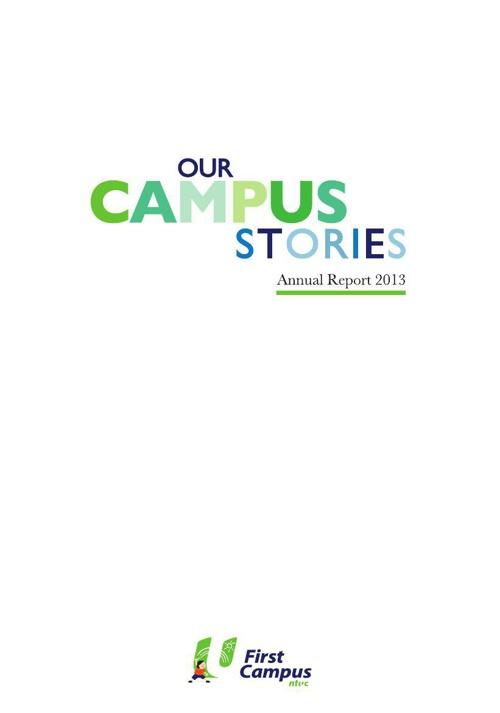 NTUC First Campus AR 2013