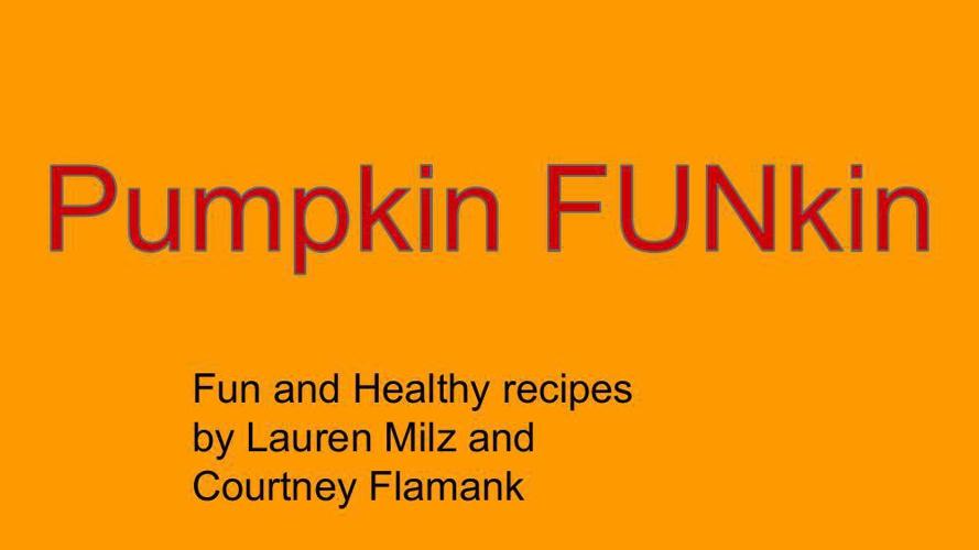 Pumpkin FUNpkin