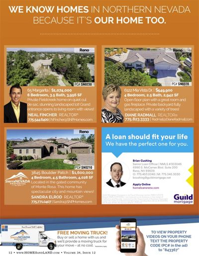 SNP Homes for sale in the January Homes & Land